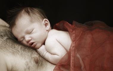Bauch und Baby